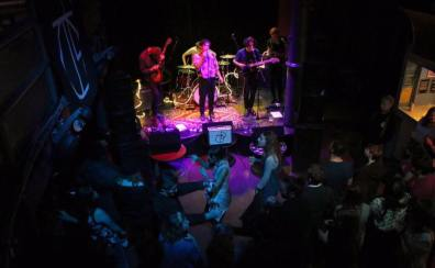 Dancing on Tables at Teviot Underground