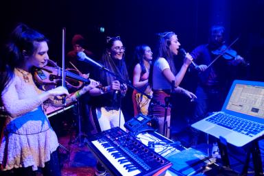 The Honey Farm and Yoko Pwno @ Teviot Underground